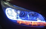 Blue Car Lights