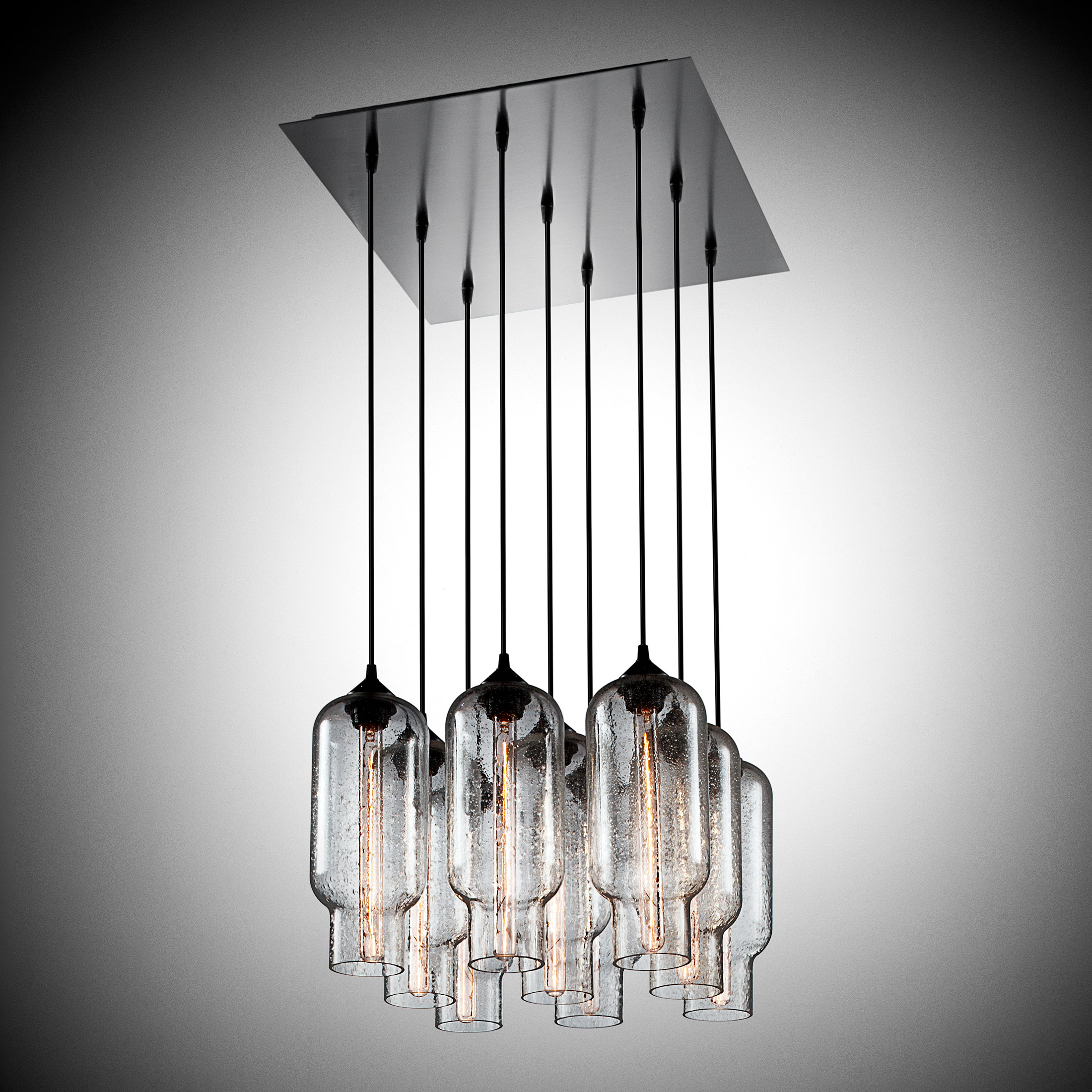 Glassy Contemporary Lighting