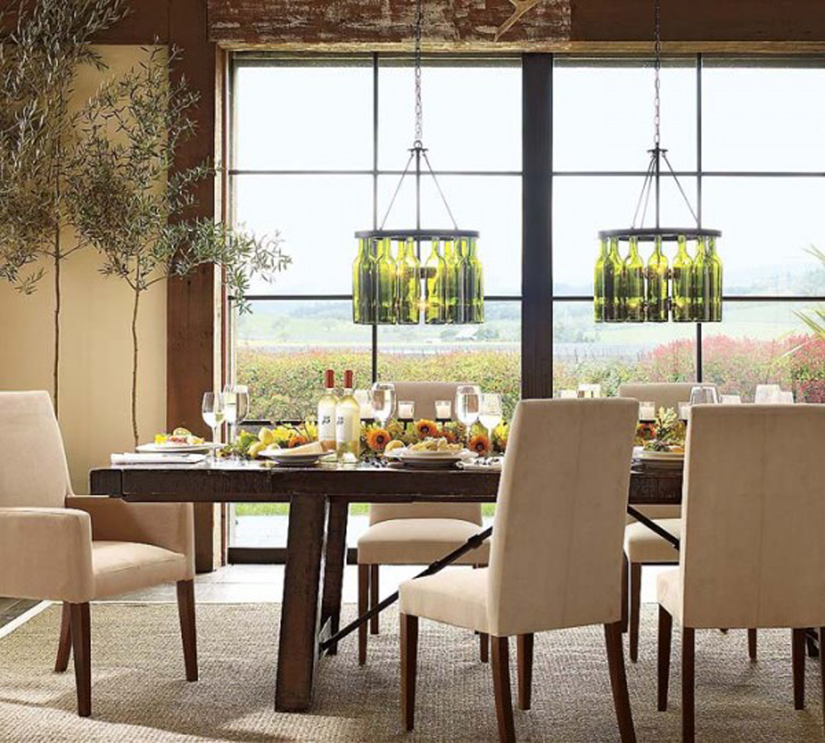 Charming Dining Room Light Fixtures