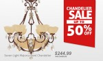 50% Discount Lighting Fixtures