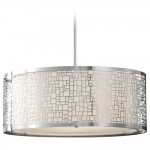 Round Drum Pendant Lighting