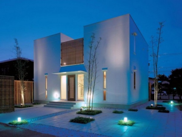 Blue Exterior Lighting Fixtures