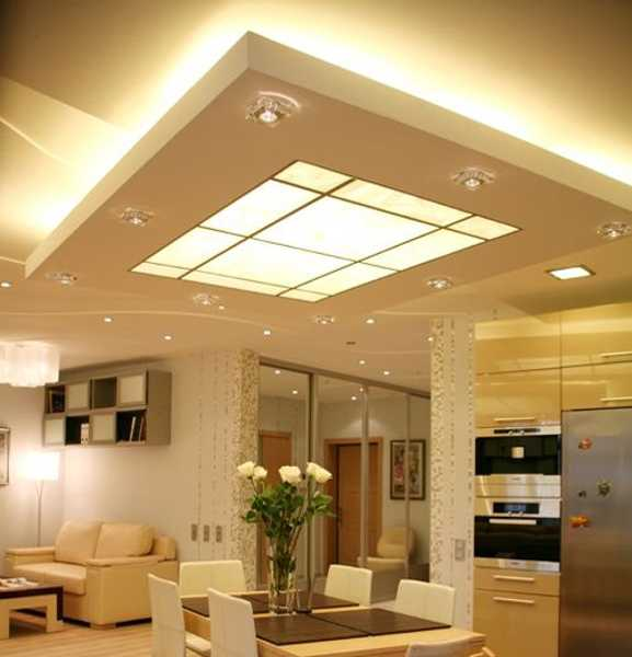 Bright kitchen lights ceiling 2016 for Bright kitchen light fixtures
