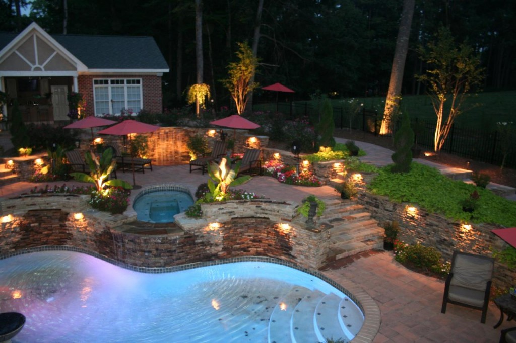 Charming Landscape Lighting Low Voltage