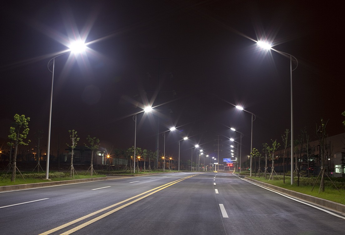 White Led Street Light