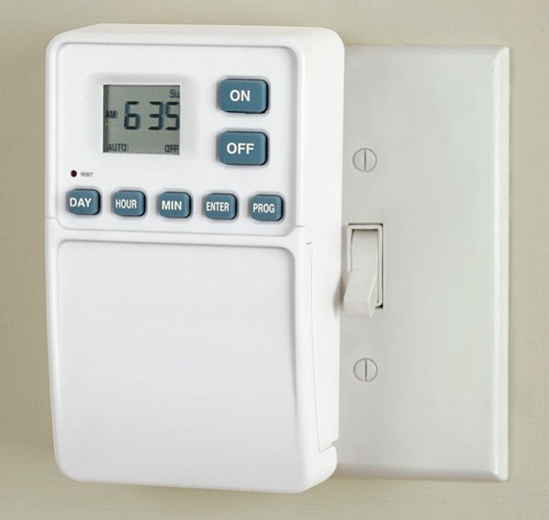Easy Light Switch Timer