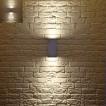 Neat Outdoor Wall Light