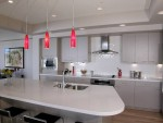 Red Pendant Lighting For Kitchen