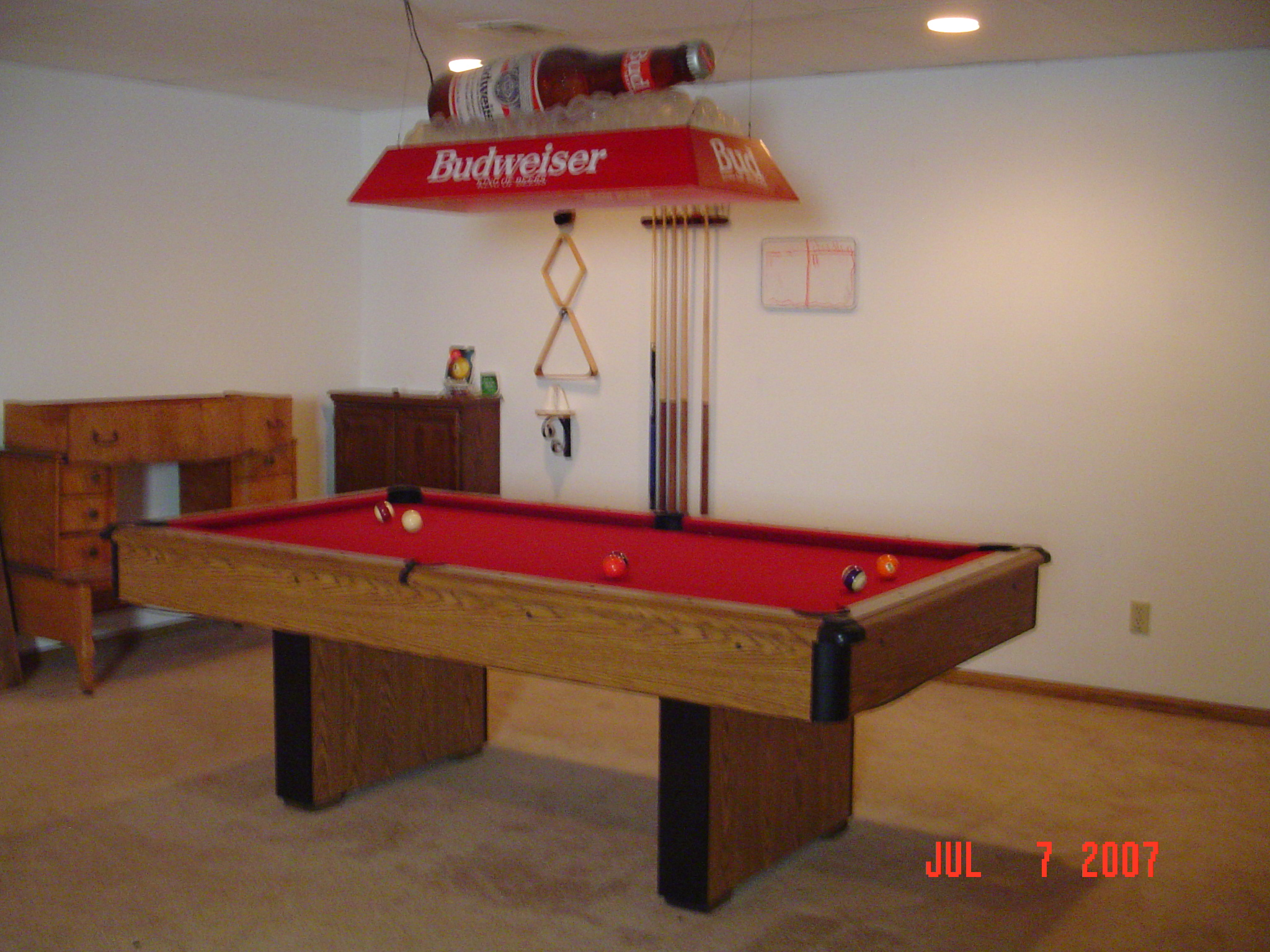 Great Pool Table Lighting