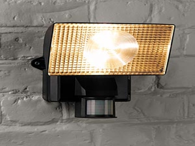 Yellow Security Lighting