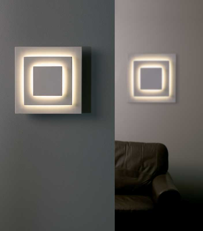Squared Wall Lights Uk