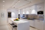 White Kitchen Cabinets Lights