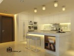 Comfortable Kitchen Lighting Idea