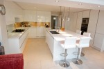 Wide Kitchen Islands With Seating