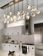Nice Lighting Over Kitchen Island