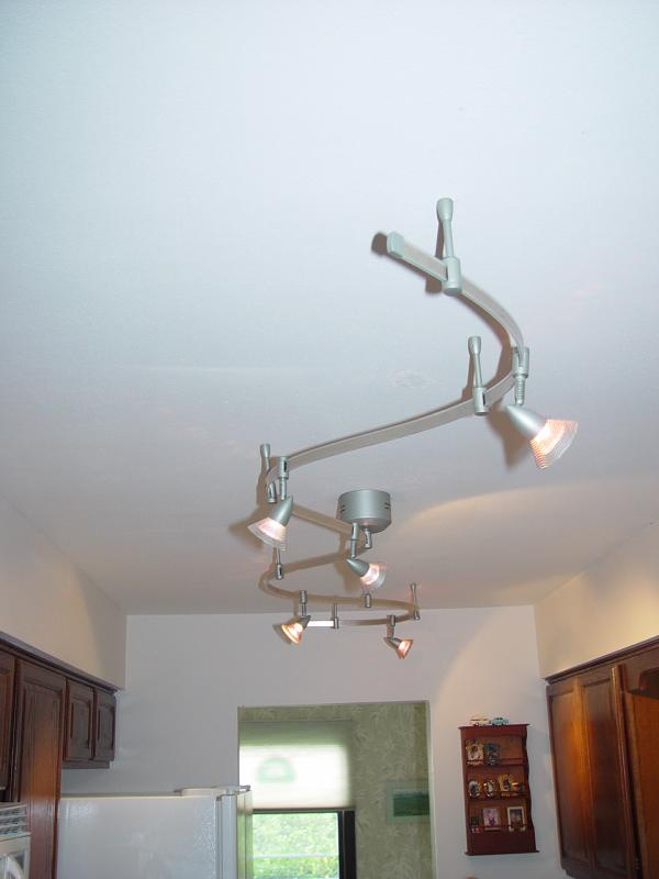 Thick Track Lighting For Kitchen