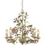 AF Lighting 7045-5H Grace Five-Light Chandelier