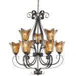 Millennium Lighting Chatsworth 9 Light Chandelier
