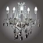 MonaLisa Gallery Crystal Chandeliers Ceilling Pendant Light Fixture SML-121-S5 W12xH21