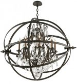 Troy Lighting Byron 8-Light Pendant – Vintage Bronze Finish