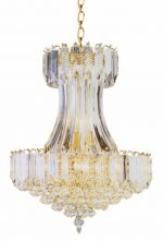 Trans Globe Lighting 9684 PB 8-Light Chandelier