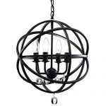 Jojospring Benita Antique Sphere 4-light Crystal Chandelier