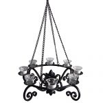 Patio Furniture Chandeliers for 8 Lighting Candles as Gazebo Lantern