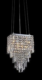 Warehouse of Tiffany CRY-RL2809 Eve Beeded Chandelier