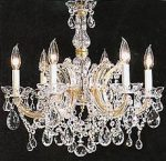 Maria Theresa Chandelier Crystal Lighting Chandeliers H 20″ W 22″! Trimmed with Spectra ™ Crystal – Reliable Crystal Quality By Swarovski