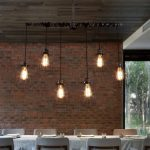 LightInTheBox Nordic Industrial Personality Art Cafe American Chandelier Restaurant Pendent Lights Creative Iron Pipes Lighting Fixtures