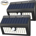 Magictec 45 LED Wireless Solar Motion Security Light, Pack of 2