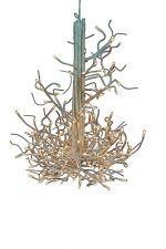 Hi-Line Gift Ltd Floral Lights 176-Light Twig Chandelier
