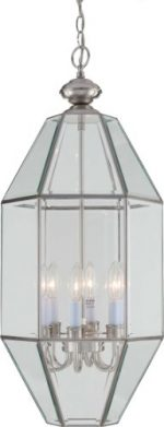Volume Lighting 6-Light Brushed Nickel Chandelier
