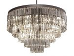 Odeon Empress Crystal ™ Glass Fringe 5-tier Chandelier Chandeliers Lighting