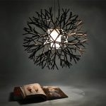 LightInTheBox Coral design pendant, 1 light, iron acrylic painting, Modern Home Ceiling Light Fixture Flush Mount, Pendant Light Chandeliers Lighting, Voltage=110-120V