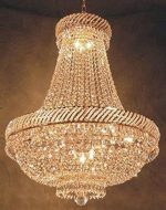 French Empire Crystal Chandelier Chandeliers Lighting H26″ X W23″