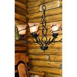 Kenroy Home 90900BRZ Twigs 6-Light Chandelier, Bronze