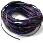 EvZ 4 Color 10m RGB Extension Cable Line for LED Strip RGB 5050 3528 Cord 4pin