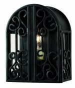 World Imports 5250-42 Sevilla Collection Wall-Mount Outdoor Sconce, Rust