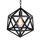 UNITARY BRAND Vintage Barn Metal Pendant Light Max 60W Painted Finish