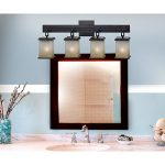 Kenroy Home 3375 Plateau 4-Light Vanity, Oil Rubbed Bronze
