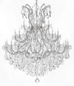 Large Foyer / Entryway Maria Theresa Empress Crystal ™ Chandelier Chandeliers Lighting! H 60″ W 52″