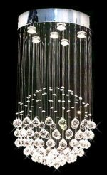 "Modern Contemporary Chandelier ""Rain Drop"" Chandeliers Lighting with Crystal Balls! H32″ X W18″"
